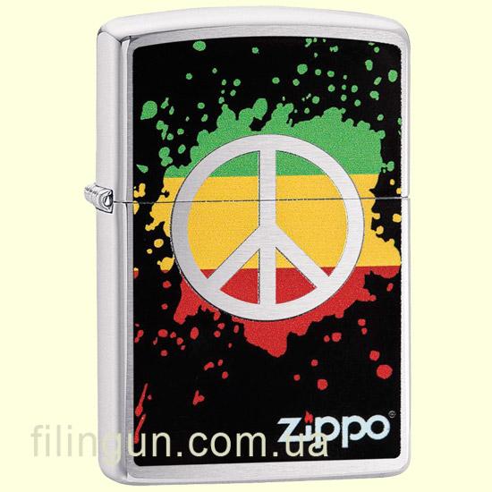 Зажигалка Zippo 29606 Peace Splash