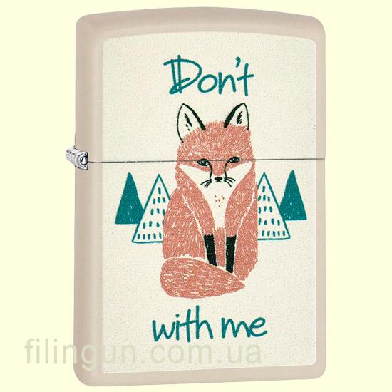 Зажигалка Zippo 29615 Fox With Me
