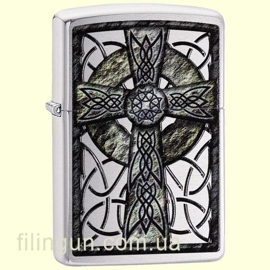 Зажигалка Zippo 29622 Celtic Cross Design