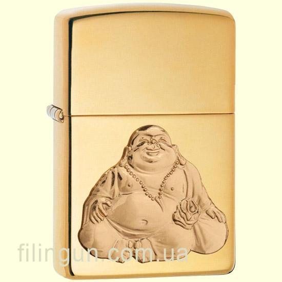 Запальничка Zippo 29626 Laughing Buddha - фото