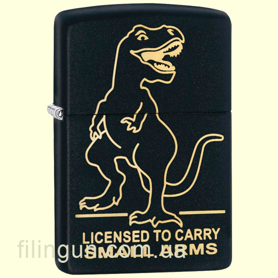 Зажигалка Zippo 29629 License to Carry