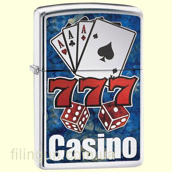 Зажигалка Zippo 29633 Fusion Casino