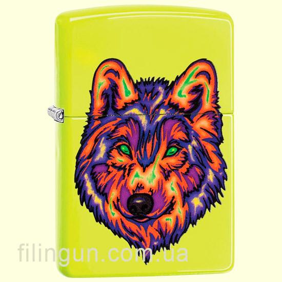 Зажигалка Zippo 29639 Neon Wolf