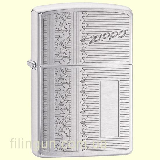 Зажигалка Zippo 29682 Initial Panel Design