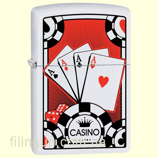 Зажигалка Zippo 29690 Four Aces Design