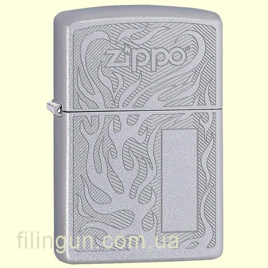 Зажигалка Zippo 29698 Flame Logo Design