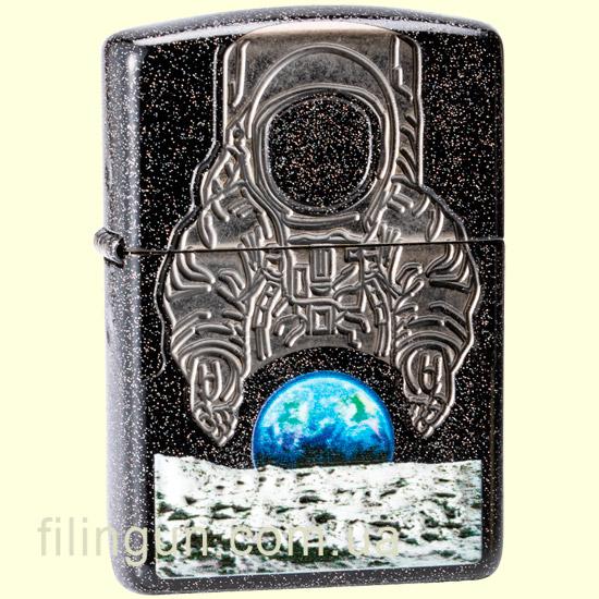"""Запальничка Zippo 29862 Armor """"Moon Landing: 50 Years"""" - фото"""