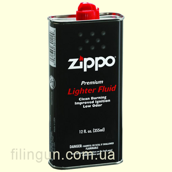 Топливо Zippo 3165 Lighter Fluid Premium 355 ml