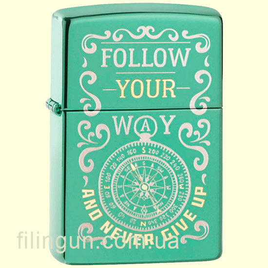 Зажигалка Zippo 49161 Follow Your Way Design