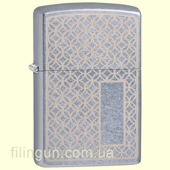 Зажигалка Zippo 49212 Pattern Panel Design Street Chrome