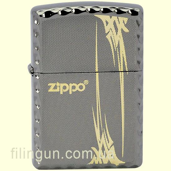 Зажигалка Zippo ZA-1-11 Tribal 4GD