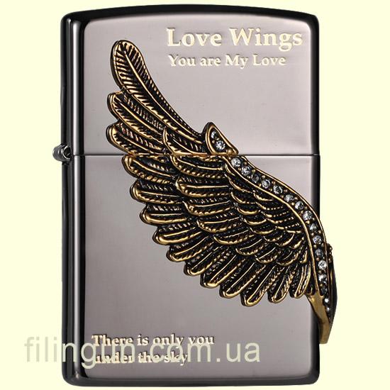 Зажигалка Zippo ZA-1-16A Love Wings