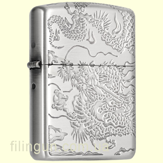 Зажигалка Zippo ZA-3-34C Armor Multi-Faceted Dragon