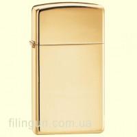 Запальничка Zippo 1654 B Slim High Polish Brass
