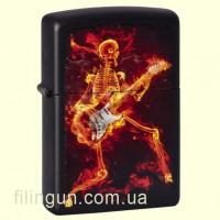 Запальничка Zippo 218.431 Guitarist Series of Fiery