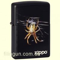 Зажигалка Zippo 218.439 Yellow Spider