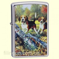 Зажигалка Zippo 24411 LINDA PICKEN Beagles