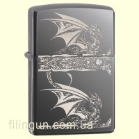 Зажигалка Zippo 28961 ANNE STOKES Gothic Dragon