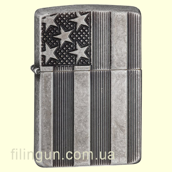 Зажигалка Zippo 28974 Armor U.S. Flag