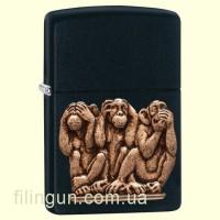 Зажигалка Zippo 29409 Three Monkeys
