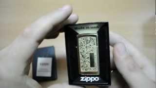 Зажигалка Zippo 1652 B Slim Venetian