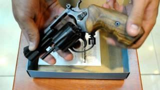 Револьвер под патрон Флобера ME 38 Magnum 4R (черный, дерево)