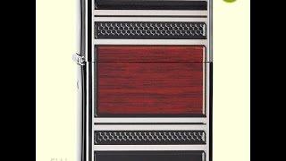 Зажигалка Zippo 28676 Steel & Wood Design Pipe Lighter
