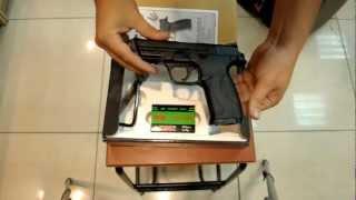 Пневматический пистолет KWC S&W KM 48 plastic slide