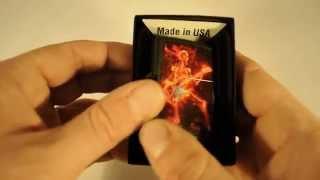 Зажигалка Zippo 218.431 Guitarist Series of Fiery