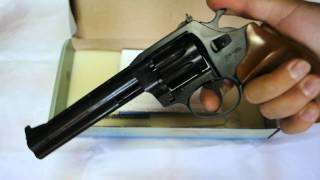 Револьвер под патрон Флобера Safari (Сафари) РФ 461 орех