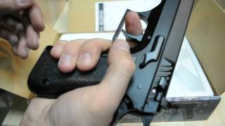 Пневматический пистолет KWC Jericho 941 KM 43 plastic slide