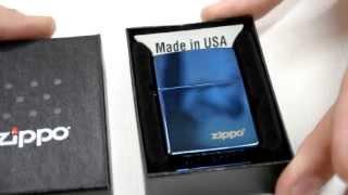Зажигалка Zippo 20446 ZL Sapphire