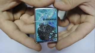 Зажигалка Zippo 24929 Zodiac Aquarius