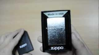 Зажигалка Zippo 207 Street Chrome