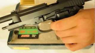 Пневматический пистолет KWC Beretta M92 KMB-15 AHNS full metal BLOWBACK