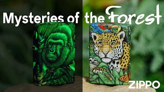 Zippo Mysteries of the Forest 25th Anniversary Collectible Set