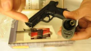 Пневматический пистолет KWC S&W KM 48(D) metal slide