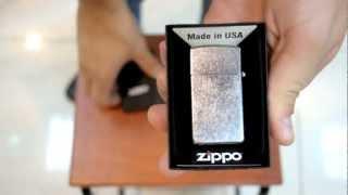 Зажигалка Zippo 1607 Slim Street Chrome