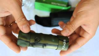 Монокуляр Tasco 12x25 зеленый