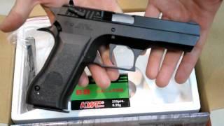 Пневматический пистолет KWC Jericho 941 KM 43(Z) metal slide