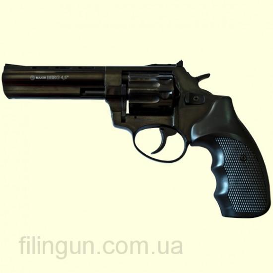 """Револьвер під патрон Флобера Ekol Major Berg 4,5"""" чорний"""