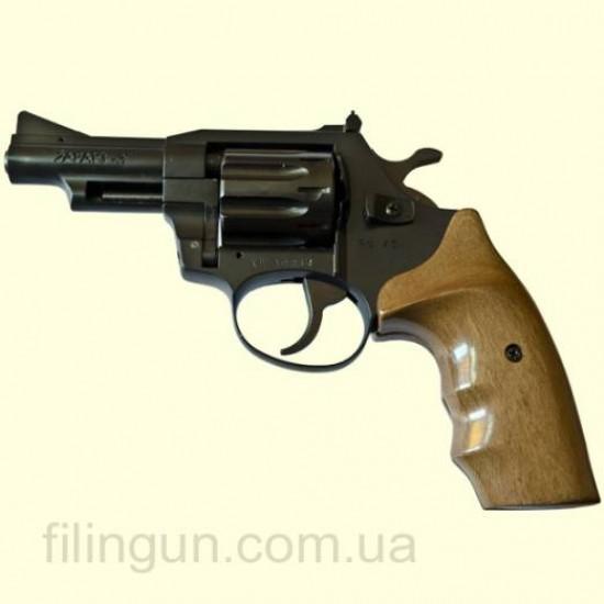 Револьвер под патрон Флобера Safari (Сафари) РФ 431 орех