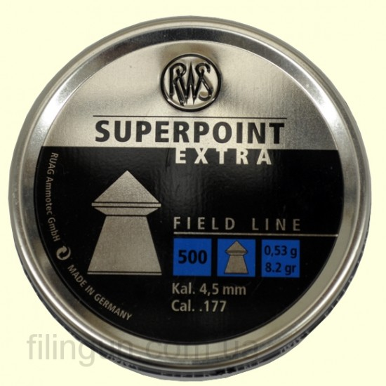Кулі для пневматичної зброї RWS Superpoint Extra