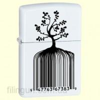 Зажигалка Zippo 28296 Identity Tree Barcode