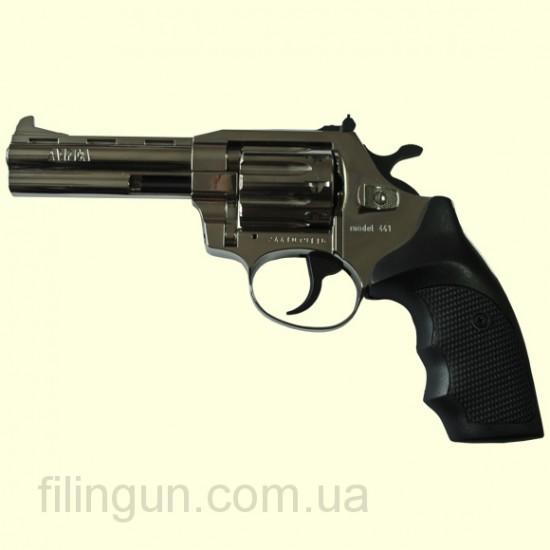 "Револьвер під патрон Флобера Alfa мод 441 4"" (никель, пластик)"