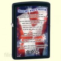 Зажигалка Zippo 28315 Military Wifes Prayer