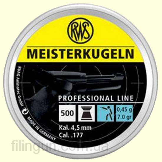 Пули для пневматического оружия RWS Meisterkugeln