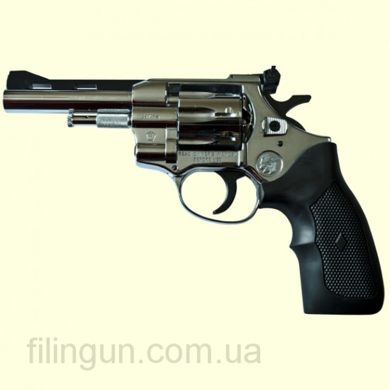 """Револьвер под патрон Флобера Weihrauch Arminius HW4 4"""" хром"""