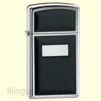 Запальничка  Zippo 1655 Slim Ultralite Black