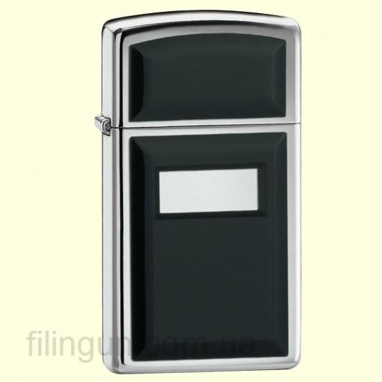 Зажигалка Zippo 1655 Slim Ultralite Black